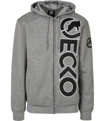 ecko unltd men's arrowhead full zip hoodie