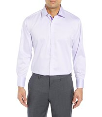 men's english laundry regular fit herringbone dress shirt