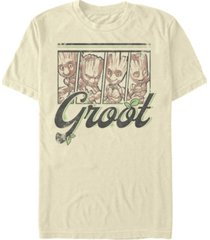 fifth sun men's four panel groot short sleeve crew t-shirt