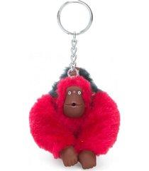 llavero monkeyclip bm rojo kipling