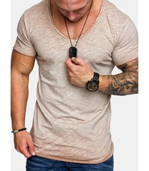 t-shirt basic in cotone stretch