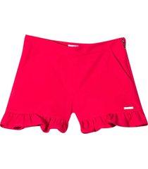 msgm fuchsia shorts
