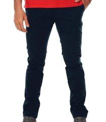 pantalón chelsea básico para hombre - azul