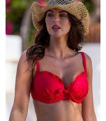 splash padded underwire bikini top