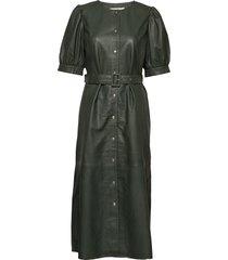 surigz dress knälång klänning grön gestuz
