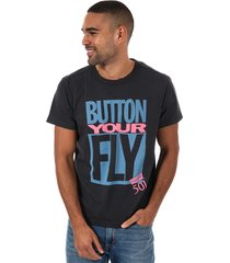 mens button your fly t-shirt