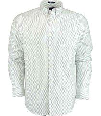 gant overhemd wit met borstzak rf 3009570/110