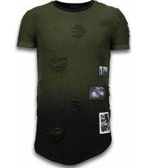 long fit shirt