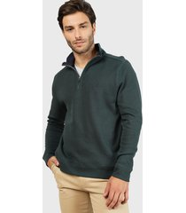 sweater nautica verde - calce regular
