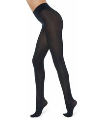 calzedonia - 50 denier total comfort silky touch tights, s/m, blue, women