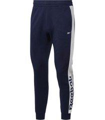 pantalón azul reebok essentials linear
