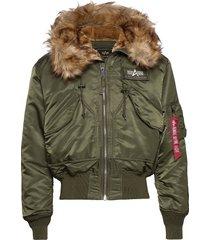 45p hooded custom bomberjacka jacka grön alpha industries