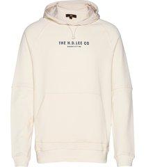 graphic hoody hoodie creme lee jeans