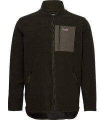 silence fleece jacket - army tunn jacka grön forét