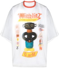 walter van beirendonck pre-owned o-arm double oversized t-shirt -