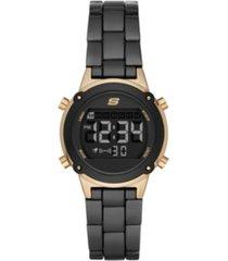 skechers hollyglen digital metal watch 33mm