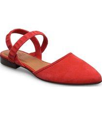 shoes 4104 loafers låga skor röd billi bi