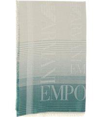 emporio armani scarf emporio armani scarf with logo