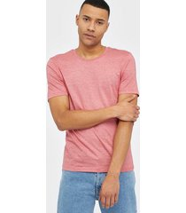 selected homme slhtheperfect mel ss o-neck tee b n t-shirts & linnen berry