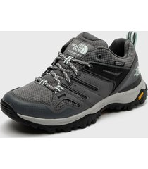 zapatilla w hedgehog fastpack ii wp gris the north face