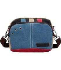 piccola spalla a tracolla piccola a contrasto di colore borsa