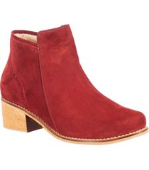 botin formal para dama san polos at-142 vinotinto