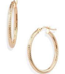 women's bony levy 14k gold twisted rope hoop earrings (nordstrom exclusive)