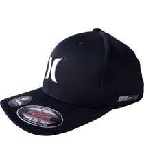 gorra hurley dri-fit one & only 37-negro/blanco s/m