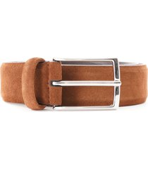 anderson's suede belt | light brown | af2846-m3