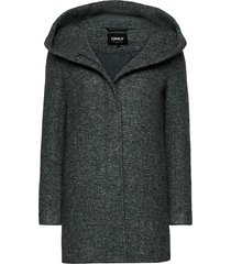 onlsedona boucle wool coat otw noos yllerock rock grön only