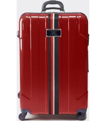 "tommy hilfiger women's 28"" spinner suitcase red -"