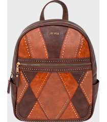 mochila marrón secret