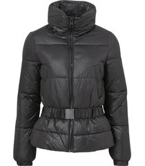 jacka onltrixie belted puffer jacket