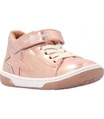 zapatilla emma velcro rosa hush puppies