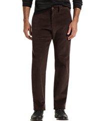 joseph abboud dark brown corduroy modern fit casual pants