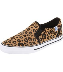 zapatilla animal print le coq sportif william animal print