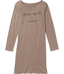 camicia da notte (marrone) - bpc bonprix collection