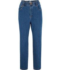 jeans elasticizzati a vita alta maite kelly (blu) - bpc bonprix collection