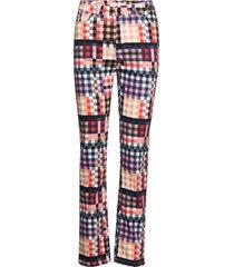 leon rechte jeans multi/patroon munthe