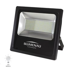 refletor led slim 150w bivolt branco frio 6000k - 74150600 - blumenau - blumenau