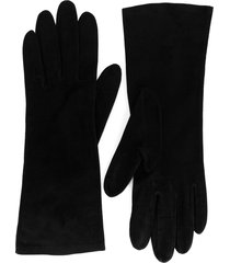 christian dior pre-owned classic gloves - black