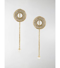 ellery melpomene drop earrings