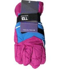 guantes violeta trendy moto