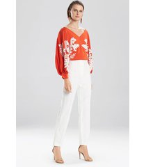 natori paloma pants, women's, cotton, size 10