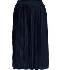 vipliss midi skirt knälång kjol blå vila