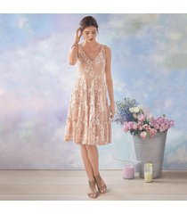 blushed tournesol dress