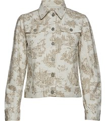 june jacket jeansjacka denimjacka creme wood wood