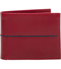 billetera navil rojo bosi