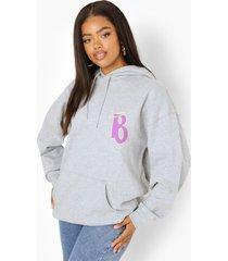 oversized gelicenseerde bratz hoodie, grey marl