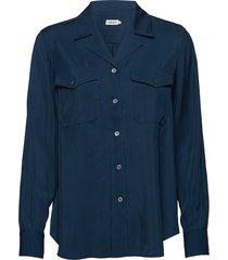 cruise blouse blouse lange mouwen blauw filippa k